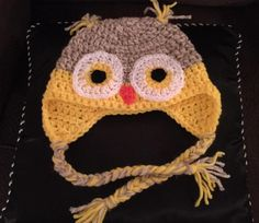 toddler owl hat by Rebecca Taylor