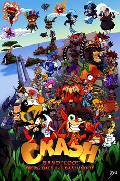 Crash Bandicoot: Bring Back the Bandicoot by ~TheRedOcelot on deviantART