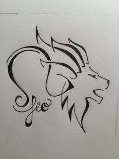 leo star sign symbol - Google Search