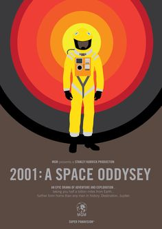 2001: A Space Odyssey - movie poster - Marcus Reed