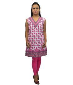 Loved it: Bpt Pink Cotton Kurti, http://www.snapdeal.com/product/bpt-pink-cotton-kurti/1434497097