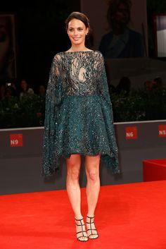 Berénice Bejo in Zuhair Murad Couture #VeniceFilmFestival