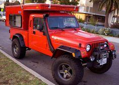 Mobile Jeep camp.  LOVE IT