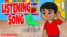 Listening Song ♫ Listening Skills ♫ Pointing Songs ♫ Follow Directions ♫ by The Learning Station Preschool Learning, Fun Learning, Teaching, Phonics Song, Philosophy Of Education, Learning Stations, Fun Songs, Music And Movement, Reading Rainbow