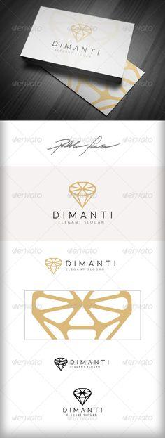 Diamond Jeweller Logo  #GraphicRiver         Diamond Jeweller Finance Prestige Business Logo template is suitable for jeweller, gems merchant, precious stone business...