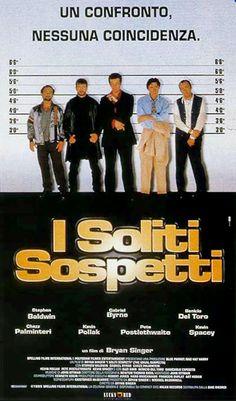 I SOLITI SOSPETTI - film del 1995 di Bryan Singer con Stephen Baldwin, Kevin Spacey, Chazz Palminteri, Gabriel Byrne.