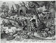 Title: Lust, from The Seven Deadly Sins, 1558 Artist: Pieter Bruegel the Elder Medium: Fine Art Paper Print A4 Poster, Poster Prints, Pieter Brueghel El Viejo, Pieter Bruegel The Elder, Renaissance Paintings, Renaissance Art, Seven Deadly Sins, Vintage Artwork, Metal Artwork