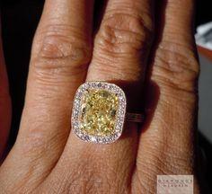hand made halo ring