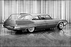 1958 Plymouth Cabana Wagon - Glass roof, hard-top side windows and suicide rear doors...
