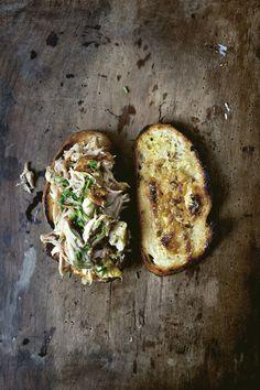 Image: chicken-confit-sandwich07. #charcuterie #chicken #confit