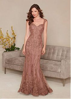 Buy discount Fabulous Mermaid Tulle Sweetheart Neckline Floor-length Mother of the Bride Dresses at Dressilyme.com