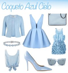 Coqueto Azul Cielo