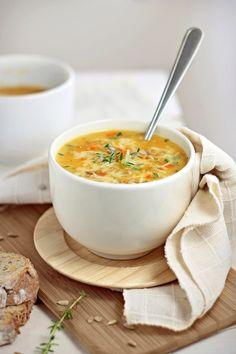 Creamy Kohlrabi Carrot Soup - Kohlrabi, Carrot, Potato, Onion ...