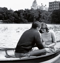 Presents? On a boat? In Central Park? Hells to the yes.