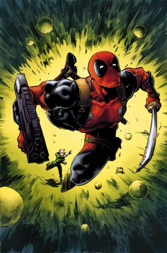 Uncanny Avengers #4 - Deadpool by Ryan Stegman, colours by Richard Isanove *