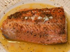 Yum... I'd Pinch That! | Tender and Flaky Salmon