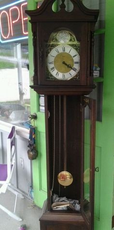 Grandfather Clock By Tempus Fugit Emperor 6'tall Owned Elderly Local Pickup Only