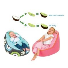 giant bean bag bed with pillow and blanket attached | bean bag
