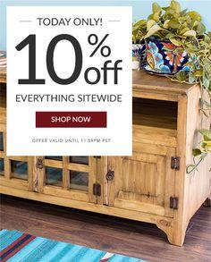 Rustic Furniture, Mexican Furniture, Talavera Tile, Folk Art Mexican Furniture, Rustic Furniture, Southwestern Home, Sewing Techniques, Furniture Collection, Online Furniture, Handmade Art, Home Accessories, Folk Art