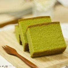 Green tea butter cake (no recipe)