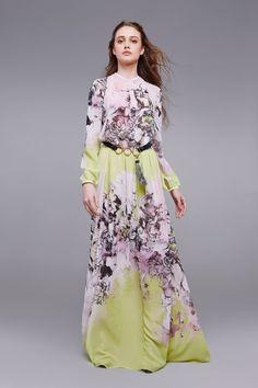 Gonna in seta Kimono Floral Abbigliamento Roberto Cavalli. www.italianist.com