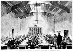 The Penal Establishment at Pentridge - Prisoner's at Dinner 1867