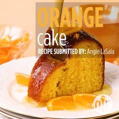 This simple glazed Orange Pound Cake has orange flavor in every bite from zest and juice in the cake, glaze, and icing! It's the perfect homemade bundt cake. Dessert Cake Recipes, Pound Cake Recipes, Easy Cake Recipes, Orange Recipes Baking, Orange Juice Cake, Orange Bundt Cake, Orange Marmalade Cake Recipe, Orange Cakes, Easy Vanilla Cake Recipe