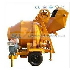 350L diesel engine wire hoppers concrete mixer from Sincola