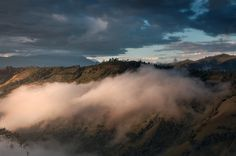 The last solar rays touch the top of the Andes range covered with fog. New Years Sales, Lunar New, Land Scape, Niagara Falls, Solar, Instagram, Canon, Photography, Travel