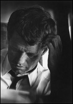 Robert Kennedy in 1964. Photograph by Cornell Capa/Magnum.
