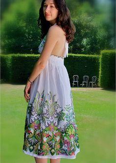 Ladies dress/Sun dress/Women dresses /floral par Zayade sur Etsy, $39.90