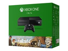 Microsoft Xbox One - Fallout 4 Bundle - game console - 1 TB HDD - black - Fallout 4