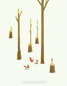 Forest Life 07, Digital