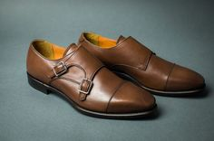 Fashion shoes for Men with patina polishing by carinovn on Etsy