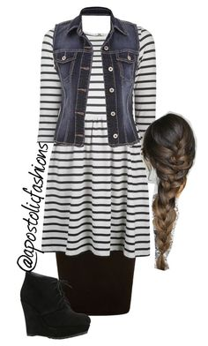 """""""Apostolic Fashions #982"""" by apostolicfashions on Polyvore featuring Ganni, ALDO and maurices"""