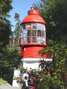 Triangle Island Lighthouse, British Columbia Canada at Lighthousefriends.com