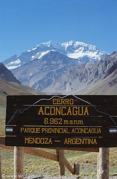 Mount Aconcagua, Mendoza, Argentina #bucket_list #experience #travel #south_america #latin_america #mountain #southern_cone #andes #cerro #montaña