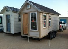 Tiny House On Wheels Shell For Sale With Many Windows To Maximize The Lighting In