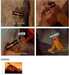 basically what the BBC did to Merlin - accurate! x'(