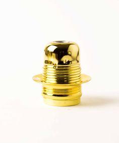 Vintage Bulb Holder - Hoop Ring Gold - William & Watson