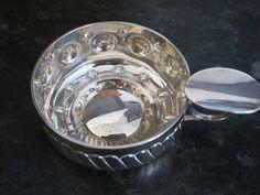 Vintage silver plated sommelier cup  wine tasting by JulesetVianne, £24.00