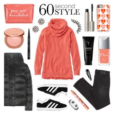 """""""60 Second Style - Happy Weekend!"""" by lgb321 ❤ liked on Polyvore featuring L.L.Bean, tarte, NIKE, Casetify, adidas, NYX, Ilia, Christian Dior, happy and weekend"""