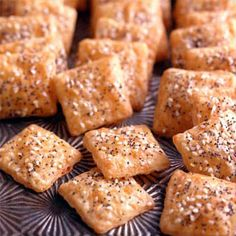 Cheddar Shortbread Bites Recipe from Land O'Lakes