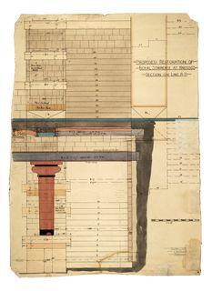 Ashmolean Museum; Sir Arthur Evans: The Archive: Drawings Knossos Crete