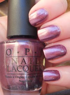 Polished Criminails: Swatch: OPI - Meet Me On The Star Ferry