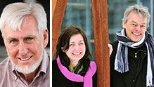 "The Nobel Prize in Physiology or Medicine 2014 was awarded with one half to John O'Keefe and the other half jointly to May-Britt Moser and Edvard I. Moser ""for their discoveries of cells that constitute a positioning system in the brain"".    2014 Medicine Laureates. Photos: D. Bishop, UCL and Kavli Institute, NTNU, CC-BY-SA-3.0  via Wikimedia Commons"