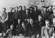 Resistants prisoners in France, 1940