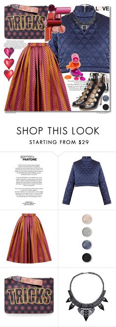 """""""Untitled #1191"""" by octobermaze ❤ liked on Polyvore featuring House of Holland and Terre Mère"""