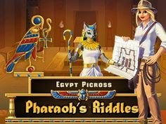 Plunge into the world of Ancient Egypt and solve its fascinating puzzles! http://toomkygames.com/download-free-games/egypt-picross-pharaohs-riddles #egypt #toomkygames #griddlers #japanesecrossword #nonogram #freegames #freedownload
