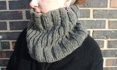 easy cowl pattern easy knitting pattern easy by infinitythreads, $5.75